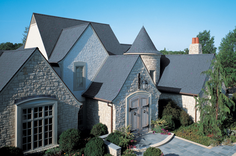 Tamko march 2015 for Fiber cement composite roofing slate style
